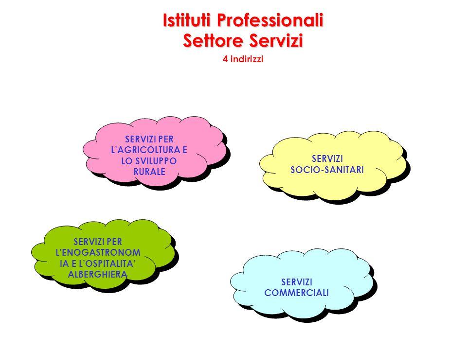 Istituti Professionali Settore Servizi