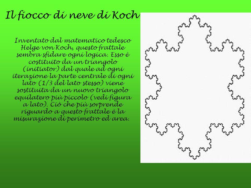 Il fiocco di neve di Koch