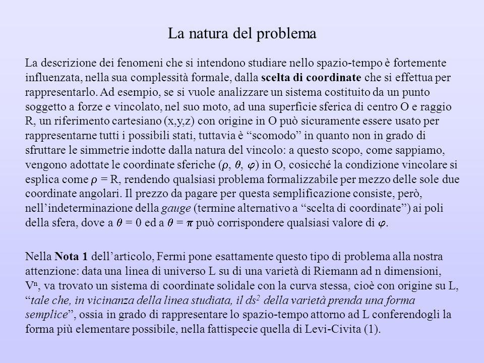 La natura del problema