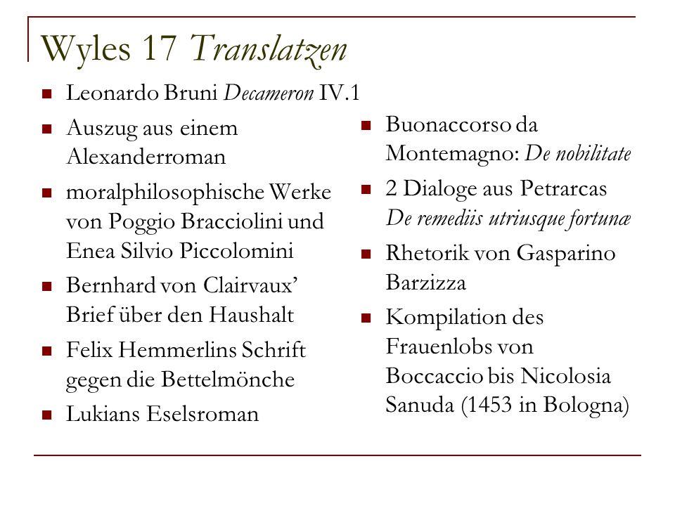 Wyles 17 Translatzen Leonardo Bruni Decameron IV.1