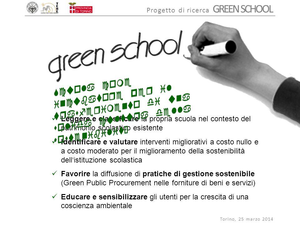 Scuola come incubatore per il trasferimento di una solida cultura della sostenibilità