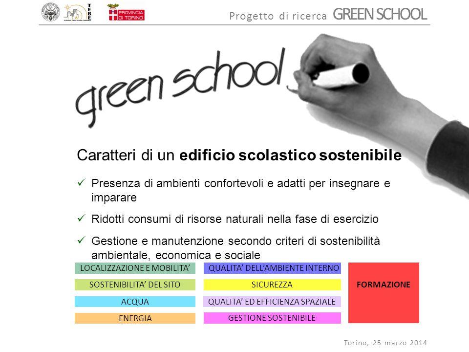 Caratteri di un edificio scolastico sostenibile