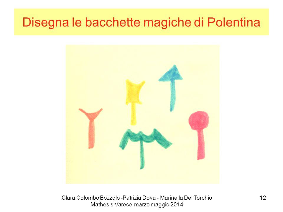 Disegna le bacchette magiche di Polentina
