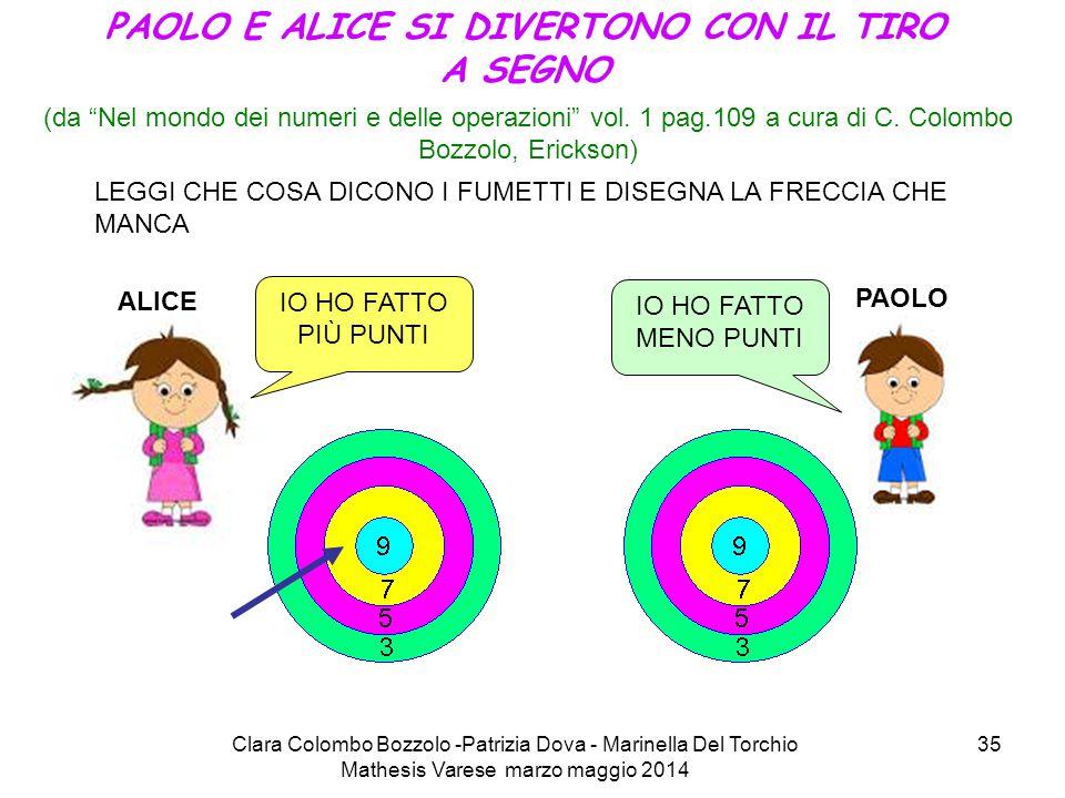 PAOLO E ALICE SI DIVERTONO CON IL TIRO A SEGNO