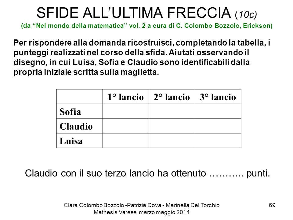 SFIDE ALL'ULTIMA FRECCIA (10c) (da Nel mondo della matematica vol