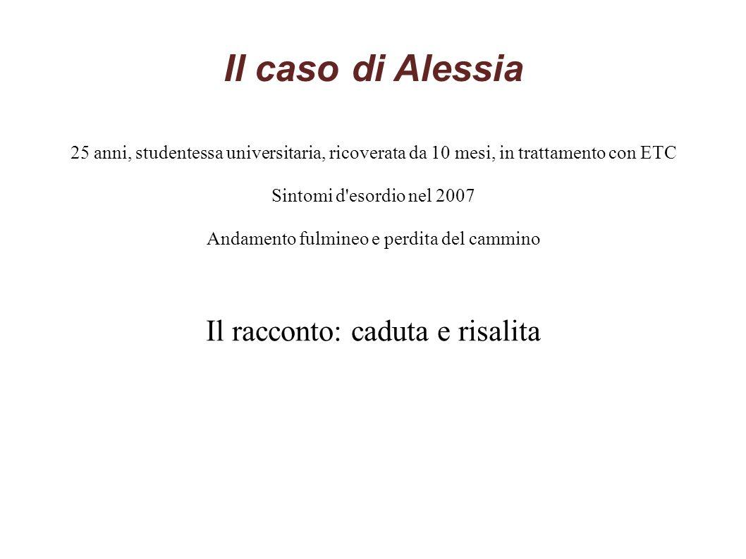 Il caso di Alessia Il racconto: caduta e risalita