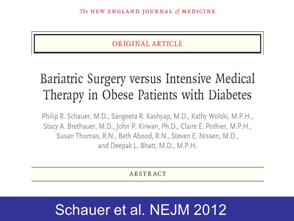 Schauer et al. NEJM 2012