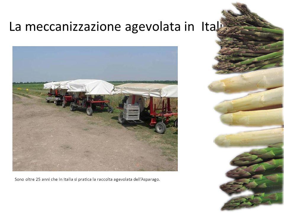 La meccanizzazione agevolata in Italia