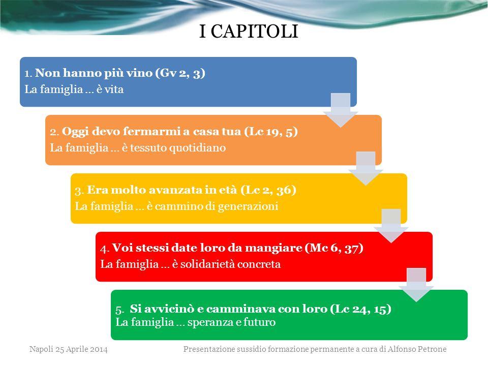 Presentazione sussidio formazione permanente a cura di Alfonso Petrone