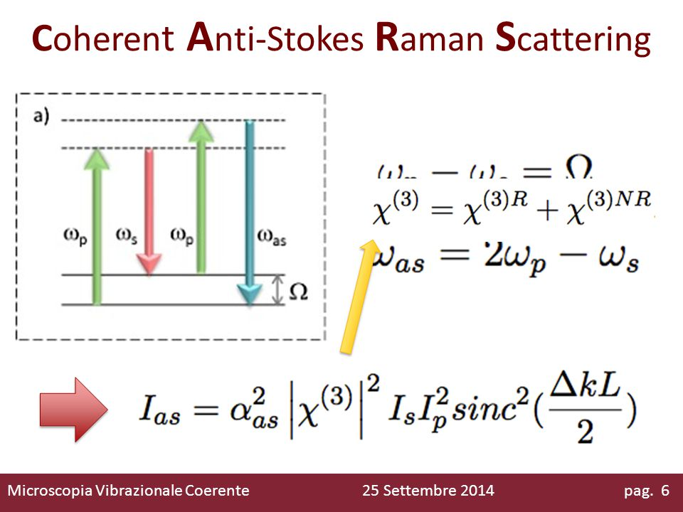Coherent Anti-Stokes Raman Scattering
