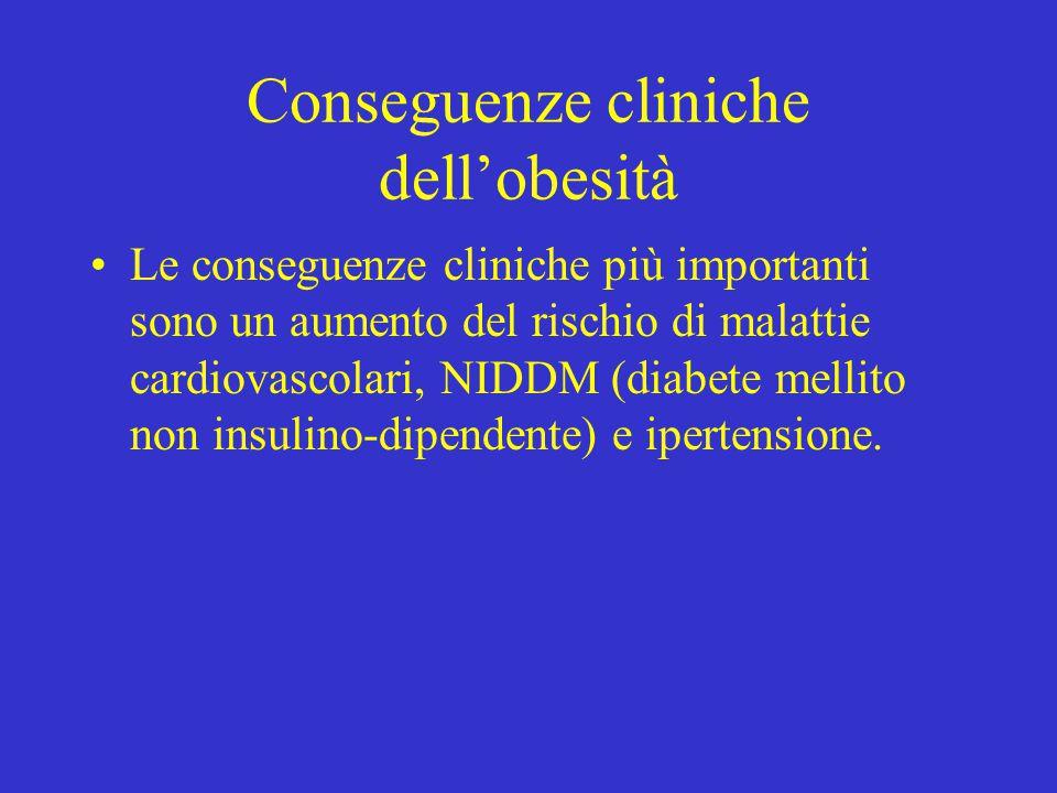 Conseguenze cliniche dell'obesità