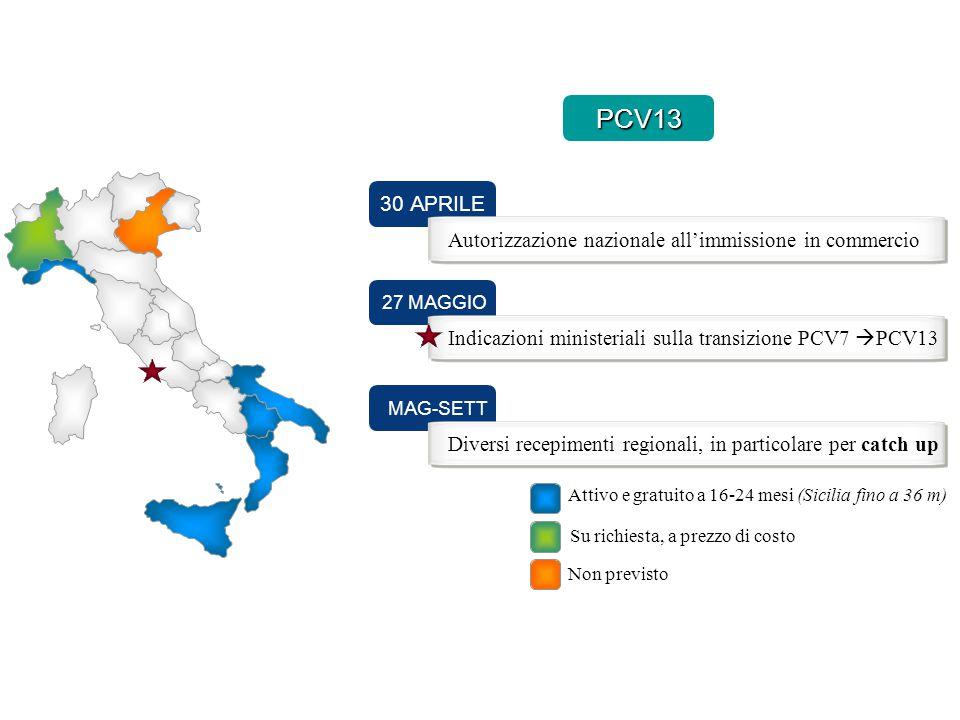 PCV13 30 APRILE Autorizzazione nazionale all'immissione in commercio