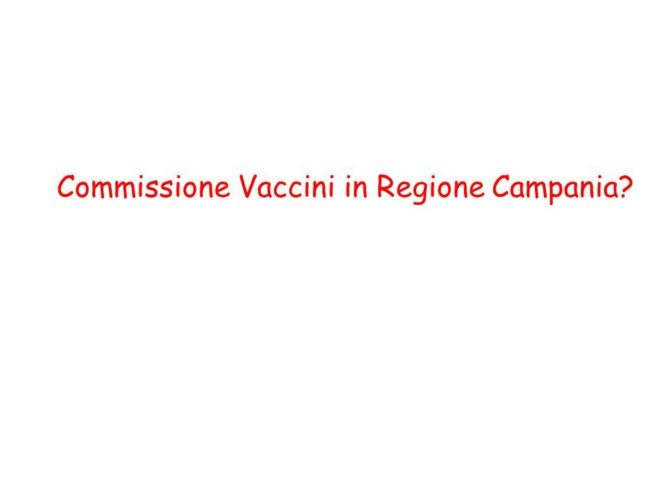 Commissione Vaccini in Regione Campania