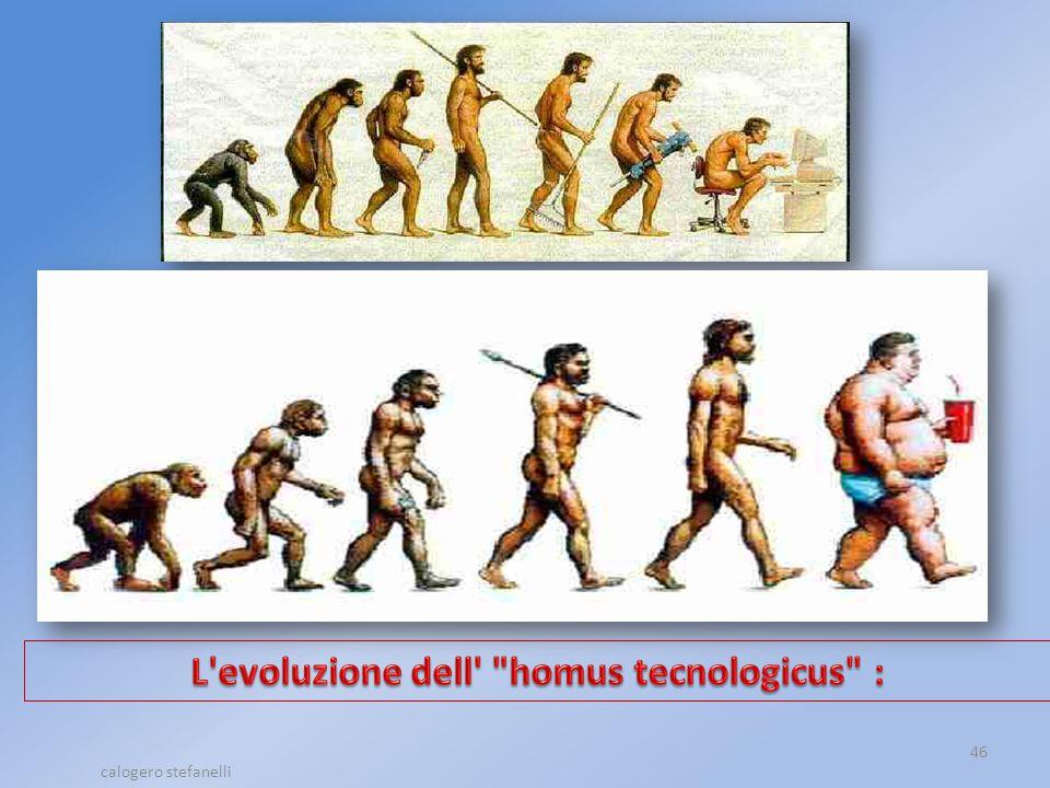 L evoluzione dell homus tecnologicus :