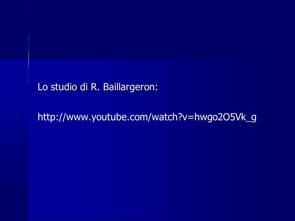 Lo studio di R. Baillargeron: