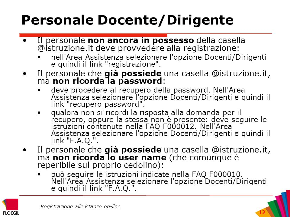 Personale Docente/Dirigente