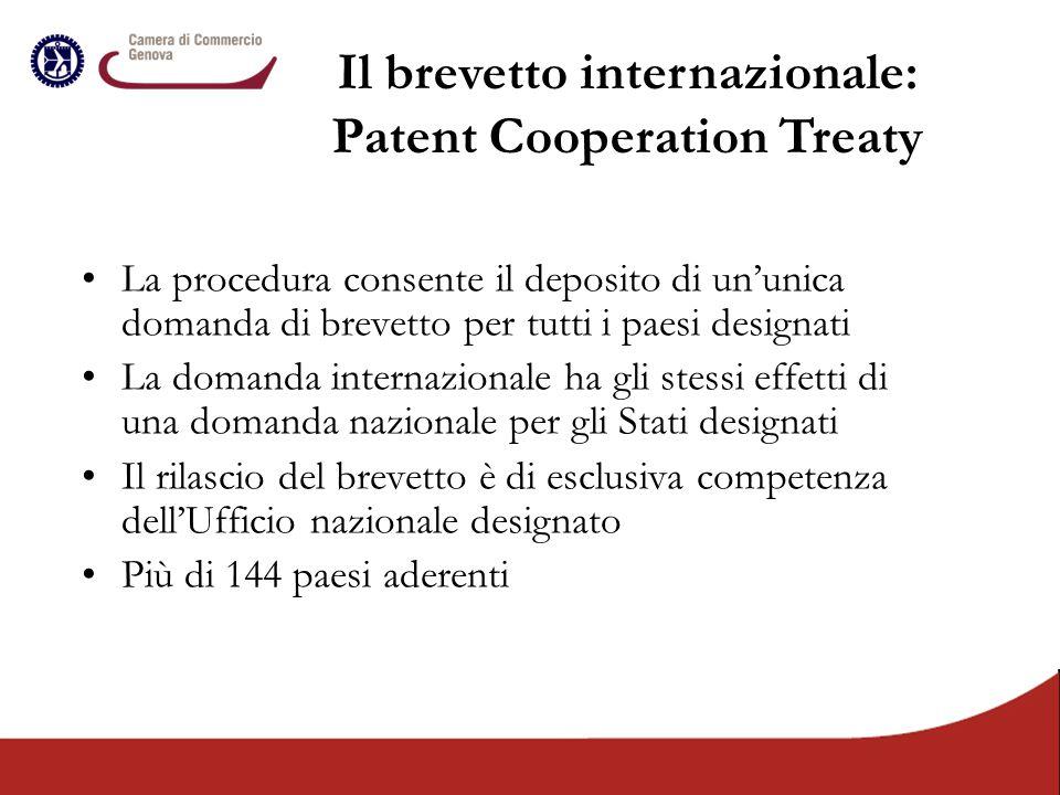 Il brevetto internazionale: Patent Cooperation Treaty