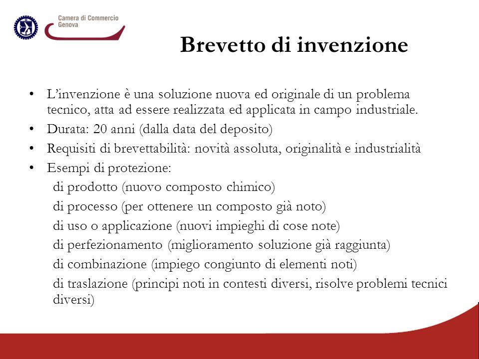Brevetto di invenzione