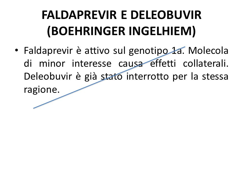 FALDAPREVIR E DELEOBUVIR (BOEHRINGER INGELHIEM)