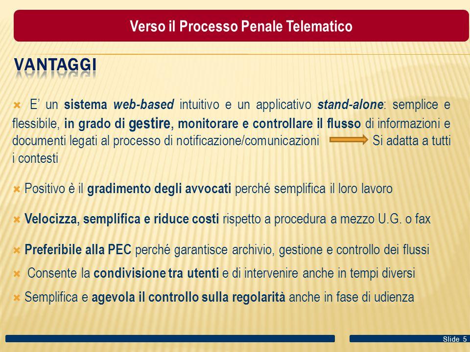 Verso il Processo Penale Telematico
