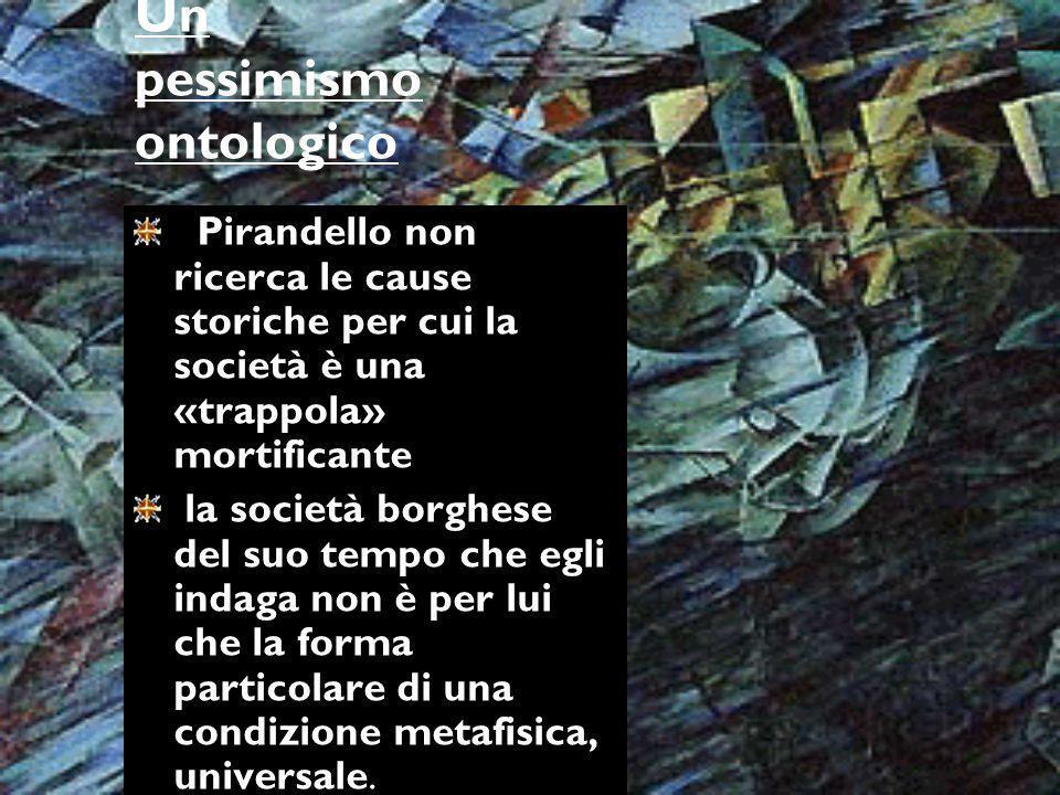 Un pessimismo ontologico