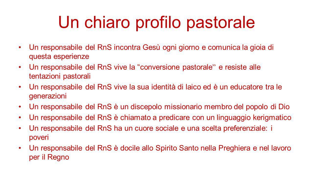 Un chiaro profilo pastorale