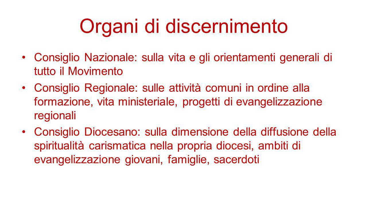 Organi di discernimento