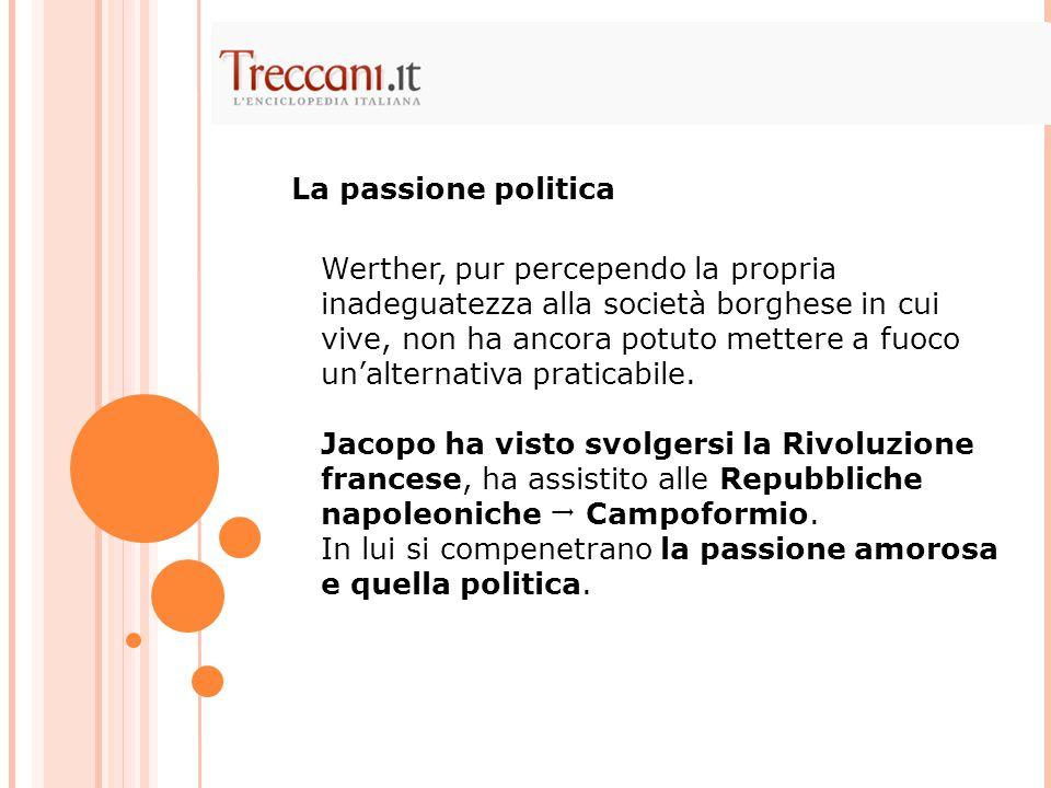 La passione politica