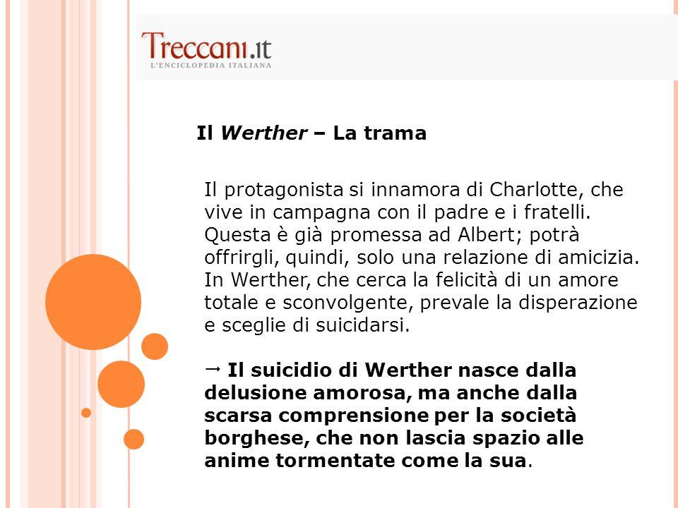 Il Werther – La trama