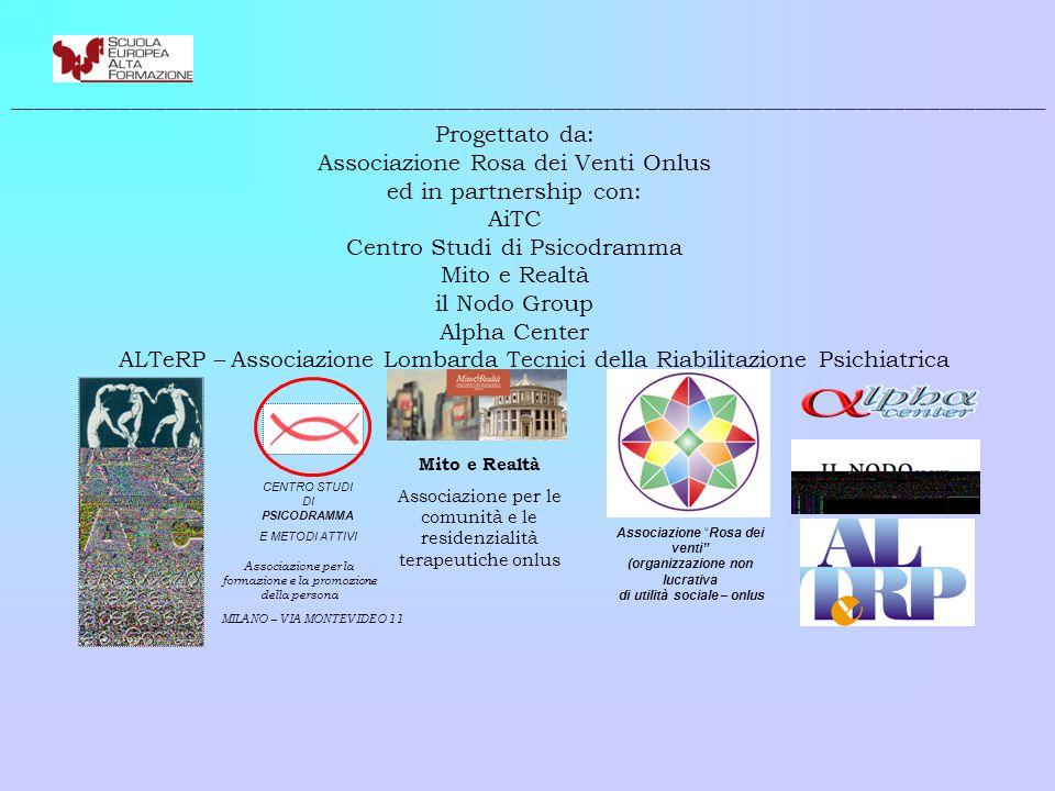 Associazione Rosa dei Venti Onlus ed in partnership con: AiTC