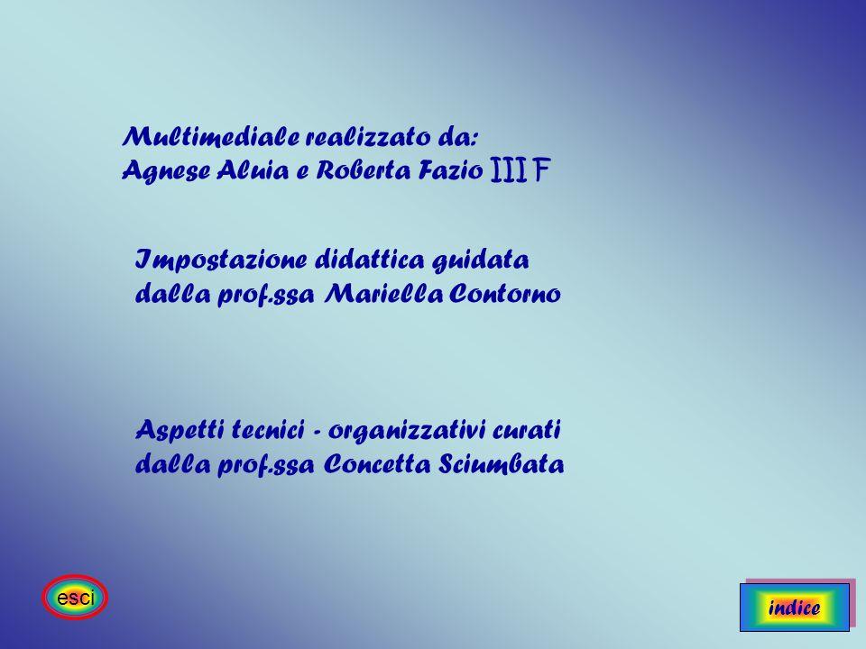 Multimediale realizzato da: Agnese Aluia e Roberta Fazio III F