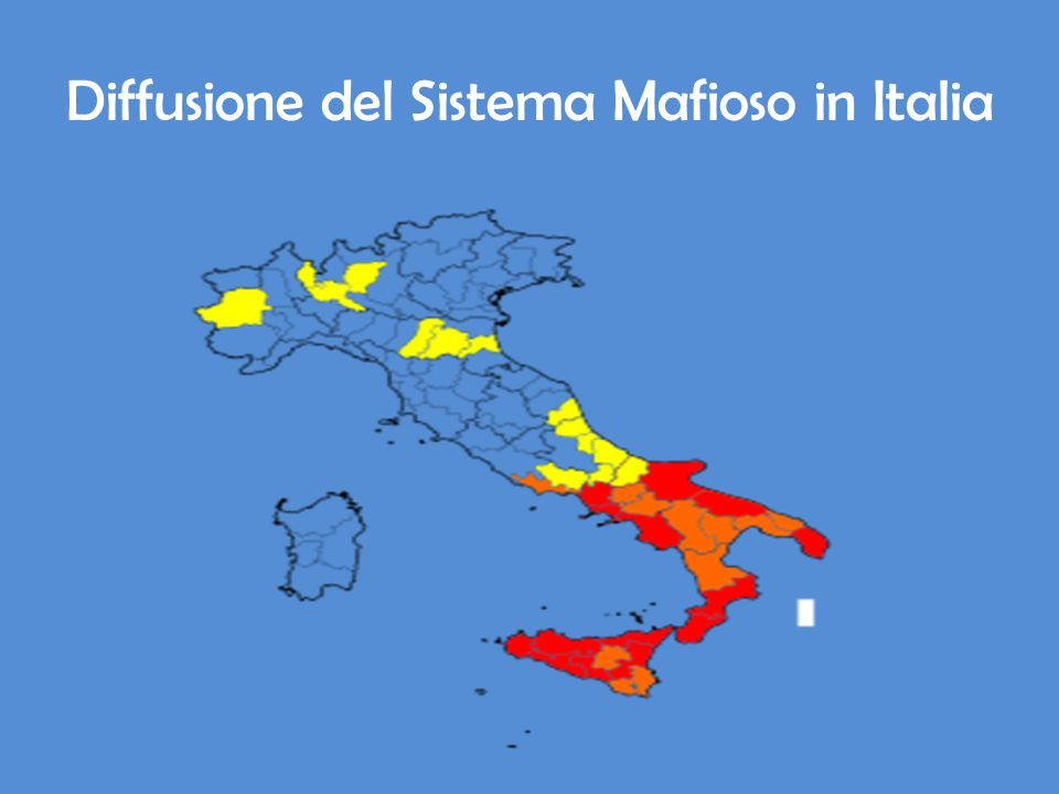 Diffusione del Sistema Mafioso in Italia