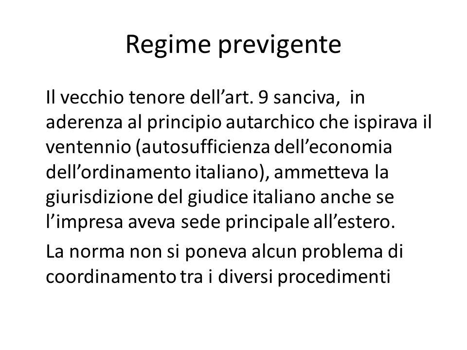 Regime previgente
