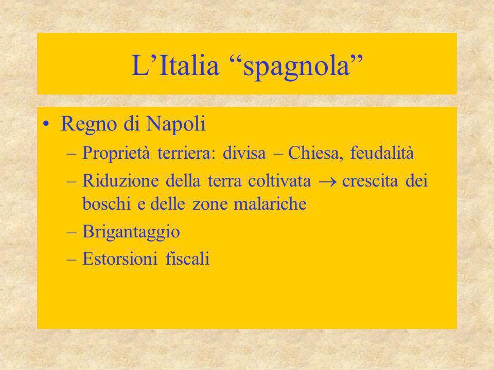 L'Italia spagnola Regno di Napoli