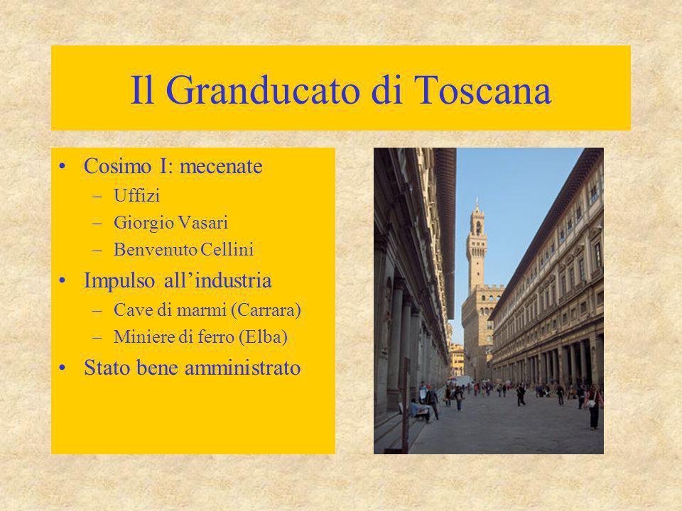 Il Granducato di Toscana