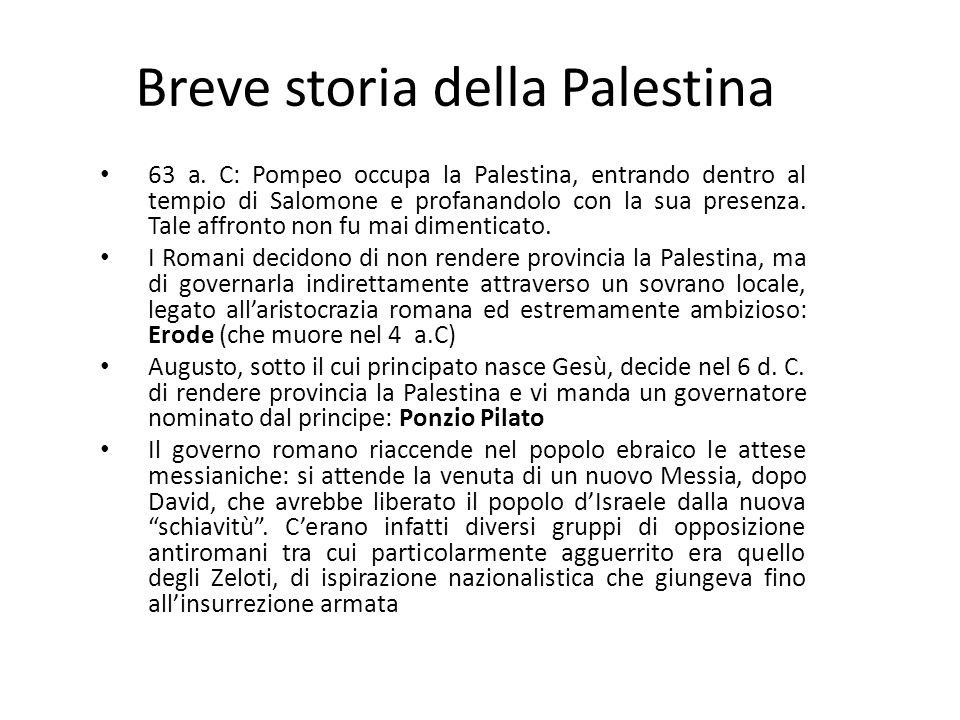 Breve storia della Palestina