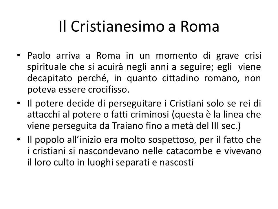 Il Cristianesimo a Roma
