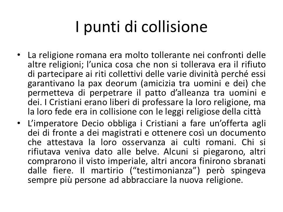 I punti di collisione