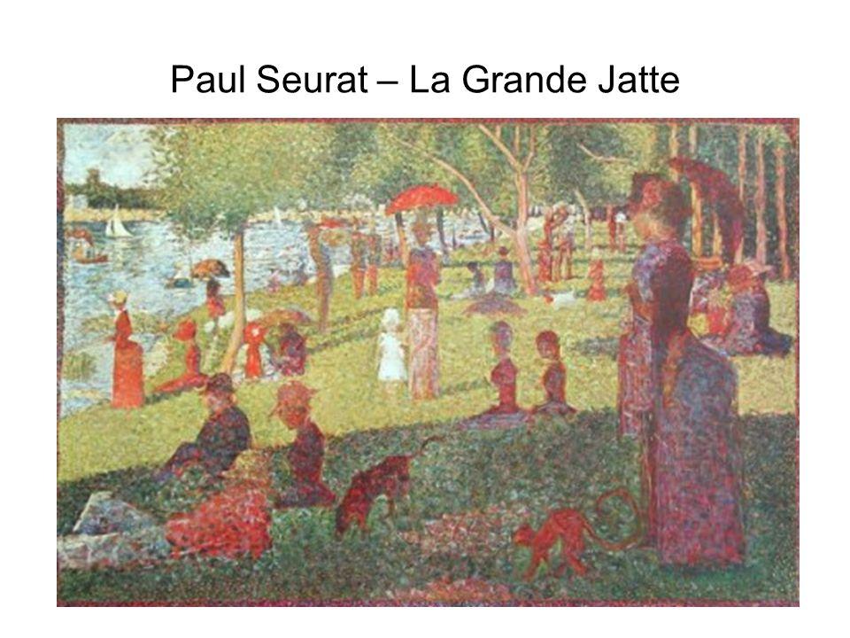 Paul Seurat – La Grande Jatte