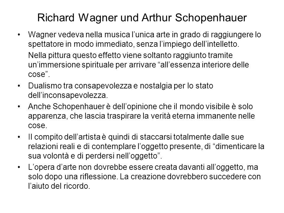 Richard Wagner und Arthur Schopenhauer