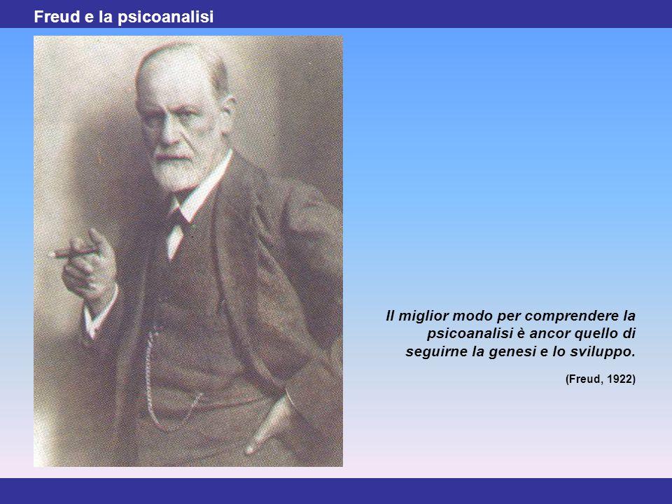 Freud e la psicoanalisi