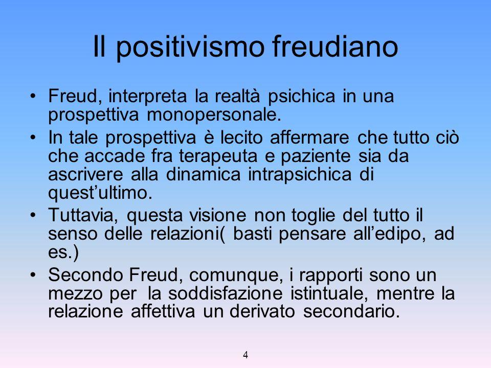 Il positivismo freudiano