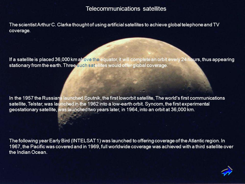 Telecommunications satellites