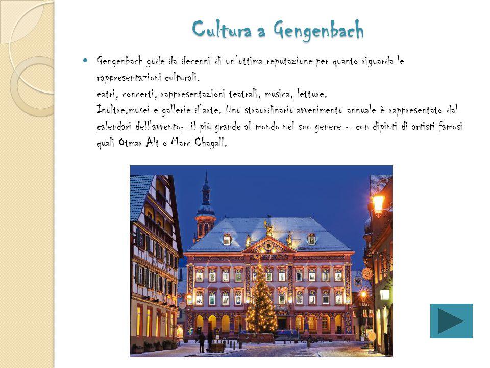 Cultura a Gengenbach