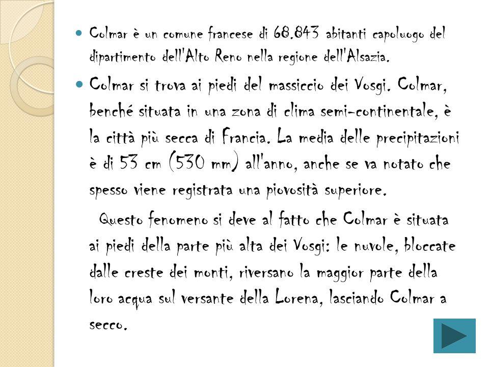 Colmar è un comune francese di 68