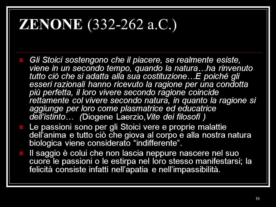 ZENONE (332-262 a.C.)