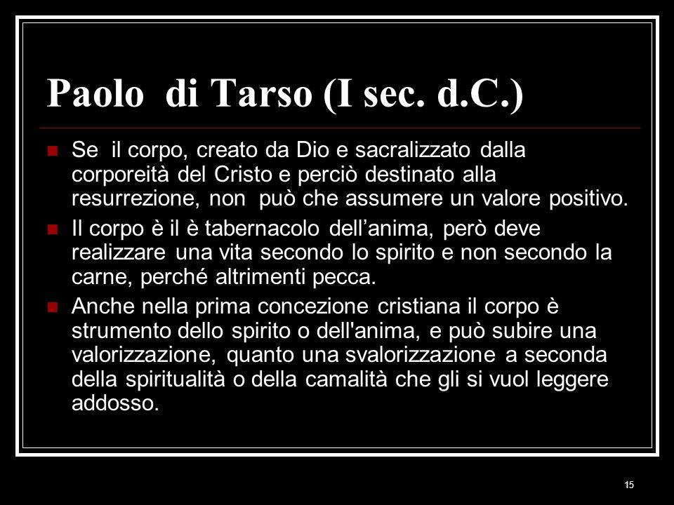 Paolo di Tarso (I sec. d.C.)