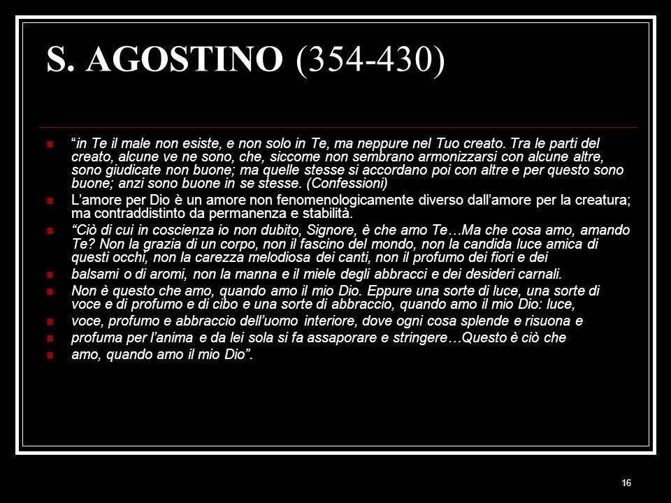 S. AGOSTINO (354-430)