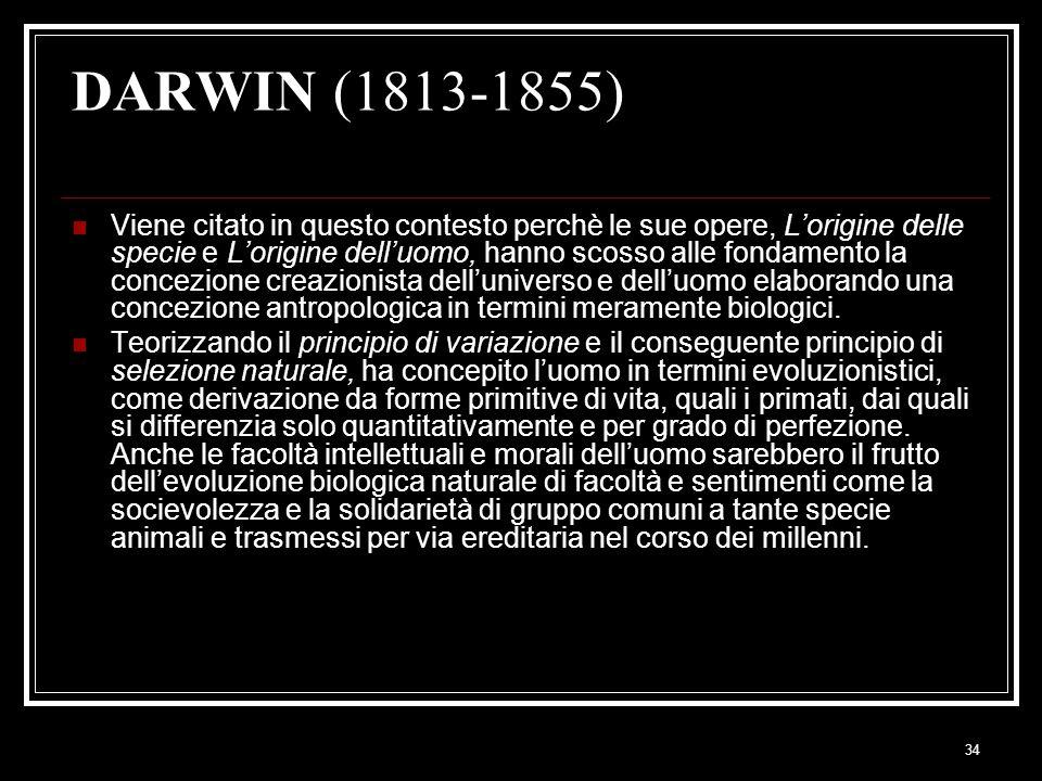 DARWIN (1813-1855)