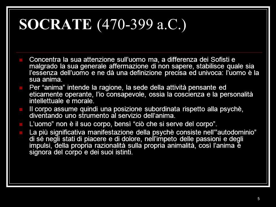 SOCRATE (470-399 a.C.)